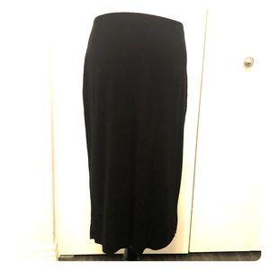 Vince Camuto black skirt